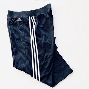 ADIDAS nylon capri wide nylon pants size M